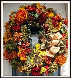 Wreaths: Decorative Door Wreaths, Luxury Christmas Wreaths - Decorative Tuscan Wreaths - Maplesville, AL