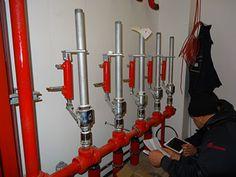 """Industrial Cruman este atestata ca societate cu avizul Nr. 2387 din 29.06.2012 pentru activitati de ,, Instalare si intretinere a sistemelor si instalatiilor de limitare si stingere a incendiilor"""".  Prin urmare va oferim servicii de mentenanta pentru toate tipurile de instalatii de stingere a incendiilor, detectie si alarmare.  Mentenanţă sistemelor de prevenire si stingere este totalitatea acţiunilor planificate sau neplanificate de testare, întreţinere şi reparaţii în scopul controlului…"""
