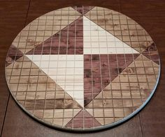 A 24 inch Pai Sho board from the world of Avatar: The Last Airbender and The Legend of Korra. This board is 24 inches in diameter and 1 inch thick.