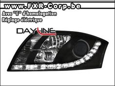 AUDI-TT-R8-LED-PROJECTOR-HEADLIGHTS