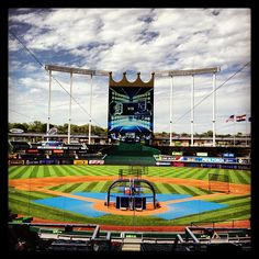 If I'm in dire need of inexpensive tickets, stellar tailgating, and fresh air, the Royals have always been a hop, skip and a jump right off of I-70.