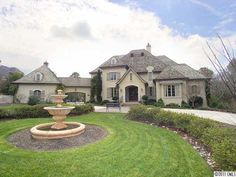 Another French-inspired home in the #SouthCharlotte community of Pellyn Wood.   $3,450,000