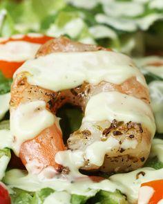 Shrimp Salad With Creamy Avocado Dressing