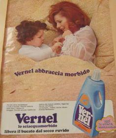 Pubblicità Vernel anni 80