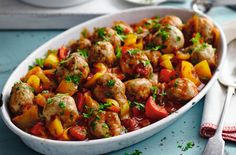 Slimming World's turkey meatballs in Creole sauce is a delicious meal you'll want to make over and over again. Turkey is one of the leanest meats around and minced turkey makes truly magnificent meatballs.