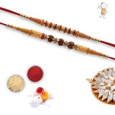 Rakhi for Brother Send Rakhi To India, Rakhi For Brother, Bobby Pins, Hair Accessories, Unique, Beauty, Design, Hair Pins, Design Comics