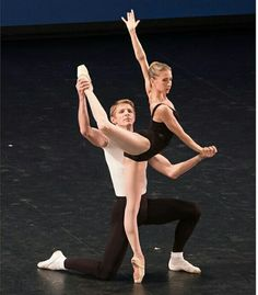 Myriam Ould Braham and Karl Paquette in Agon