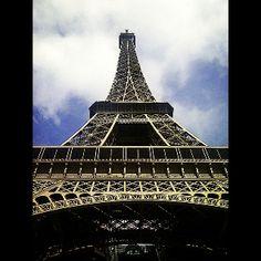 Tour Eiffel up close