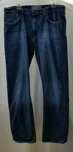 """Wranglers Men's  Relaxed Boot Blue Jeans Size 36X 34"""" #Wrangler #Relaxed"""