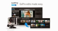 FREE- GoPro Studio Edit Software You captured your adventures, now it's time to create your story. GoPro Studio software makes it easier than ever to create professional-quality videos with your GoPro conte...