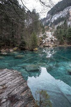Blausee, Bern, Switzerland