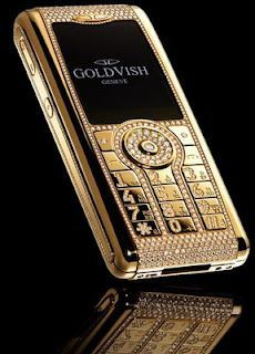 Would you spend this much on the world's most expensive mobile phone?  $1.3 million!  #Mobiles #Tech #Gadgets