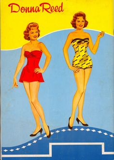 Donna Reed Paper Dolls   Donna Reed paper doll