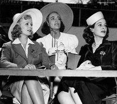 Joan Bennett, Joan Crawford, Hedy Lamarr