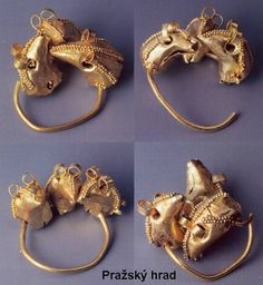 West Slavic jewellery - Great Moravia (Czech Republic)