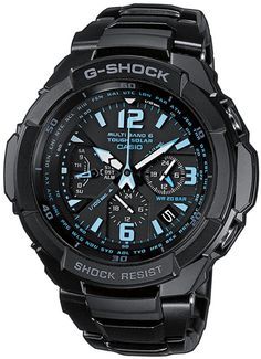 Casio Mens G-Shock Gravity Defier Alarm Chronograph Watch $469.00