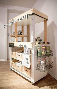 Kids Grocery Store, Ikea Play Kitchen, Scandinavian Kids Rooms, Kids Market, Ohio House, Colorful Playroom, Market Stands, Ikea Kids, Diy Shops