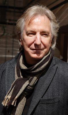 Alan RIckman - I think he'd make a great Doctor Who!