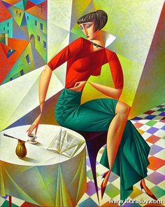 Differents styles artistiques (serie G)  de Georgy Kurasov
