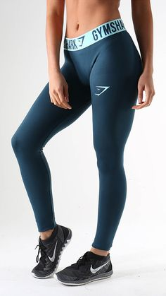Fit Leggings in Lagoon Blue. New release gym leggings available on 18th November
