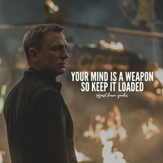 #mind #weapon Personality Development Quotes, Attitude Quotes, Mindset Quotes, Inspirational Words Of Wisdom, Wisdom Quotes, Life Quotes, Strong Words, Wise Words, Happy Quotes