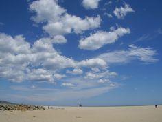 Empuria Brava, Strand und Himmel - Foto. S. Hopp