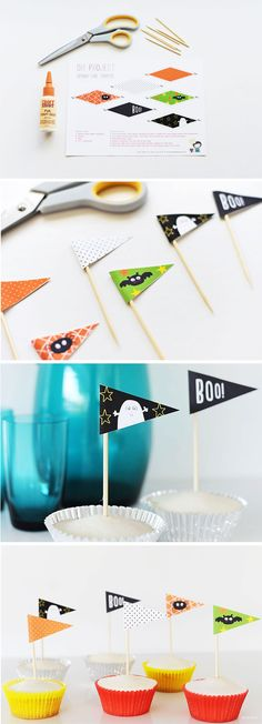DIY Projects: Spooky Cake Toppers
