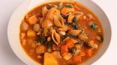 Winter Minestrone Soup Recipe - Laura Vitale - Laura in the Kitchen Epis...