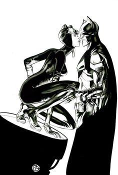Batman and Catwoman Catwoman Y Batman, Batman 1, Marvel Dc Comics, Batgirl, Bob Kane, Comic Book Artists, Comic Books, Superhero Bathroom, Catwoman Selina Kyle