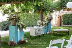 La boda en Mint de Pilar y Mathias | El Jardín de Mamá Ana Outdoor Furniture Sets, Outdoor Decor, Diy, Ideas, Home Decor, Furniture Redo, Romantic Weddings, Floral Decorations, Wedding Decoration