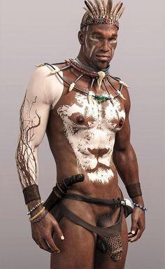 Naked Men Of Color