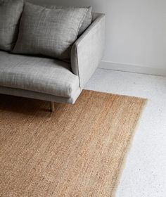 The Nest Weave rug natural from Armadillo&Co is a simple, organic weave style available with carefully sewn turnover ends that frame the rug and offer clean contemporary lines. Shop here. Interior Decorating Styles, Interior Design, Before After Furniture, Recycled Brick, Floor Runners, Natural Interior, I Coming Home, Lounge Decor, Armadillo