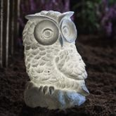 Sainsbury's Solar Light Stone Effect Owl