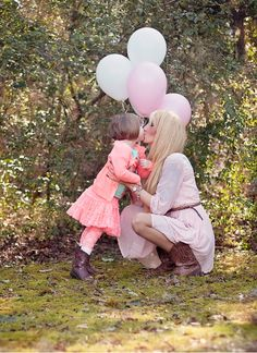 Mother Daughter birthday. Toddler birthday picture. Mommy daughter balloons photo. Mother daughter cowgirl boots. 3 year old birthday.