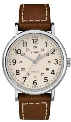 7c353df20bc Timex TW2R42400 Weekender 40 Men s Watch Tan 40mm Stainless Steel