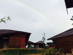 There is always a rainbow after the rain. Come visit us at Houttuyn Wellness River Resort. #suriname# #wellness# #wellnesstourism# #southamerica#  check us out http://www.houttuyn.com/nl/Home