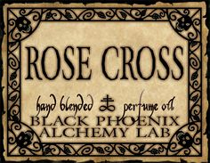 Rose Cross - Black Phoenix Alchemy Lab - another favourite.  Love how this reacts with my skin chemistry.
