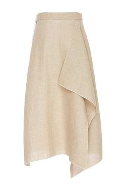 Linen Skirt by Maison Rabih Kayrouz for Preorder on Moda Operandi