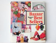 Vintage Woman's Day Craft Book Bazaar Best Sellers Book