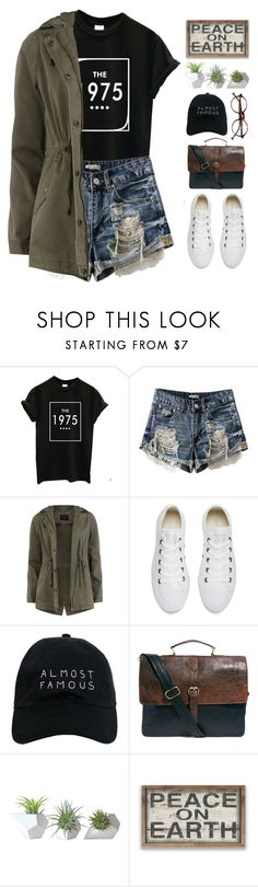 """~Summer to Fall Layering~"" by amethyst0818 ❤ liked on Polyvore featuring Dorothy Perkins, Converse, NASASEASONS, ASOS, Dot & Bo and Retrò"