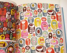 """Print & Pattern - by Bowie Style. Design book published by Laurence King in March 2010 - """"Helen Dardik"""" pages. ISBN-13: 978-1856696463"""