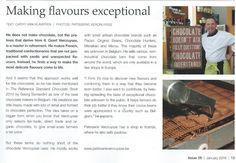 To me chocolate is my favorite food: Making flavours exceptional.