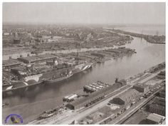 The Europa in Bremerhaven mid-May 1945