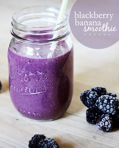 purple smoothie...