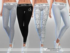 Designer Pyjama Pants by Pinkzombiecupcakes at TSR • Sims 4 Updates