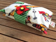 Baby or toddler funky nappy wallet. Custom made by BeLuliDesigns, $22.00