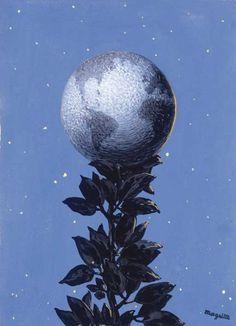 Intercepted by Gravitation | René Magritte
