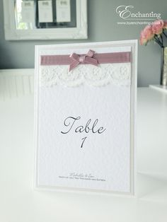 """""""Loves First Blush"""" Wedding Stationery 