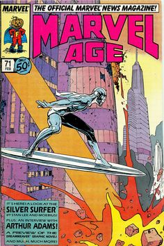 Marvel I love the Silver Surfer I cried reading the comics where he dies