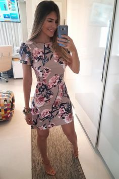Dress Outfits, Casual Dresses, Casual Outfits, Fashion Dresses, Dresses For Work, Short Summer Dresses, Summer Outfits, Mini Skirt Dress, Future Clothes